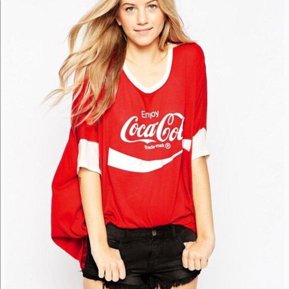 00c20368e95 Wildfox NWT oversized Coca-Cola graphic t-shirt
